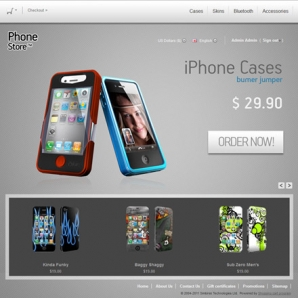 CS-Cart Mobile Phones Template