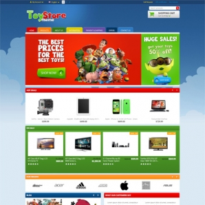 CS-Cart Toy Store Responsive Template v4