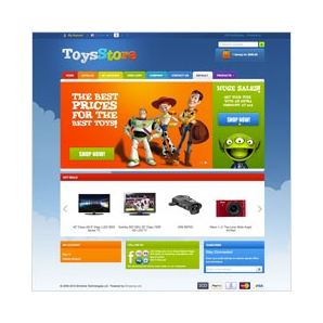 CS-Cart Toy Store Template v3