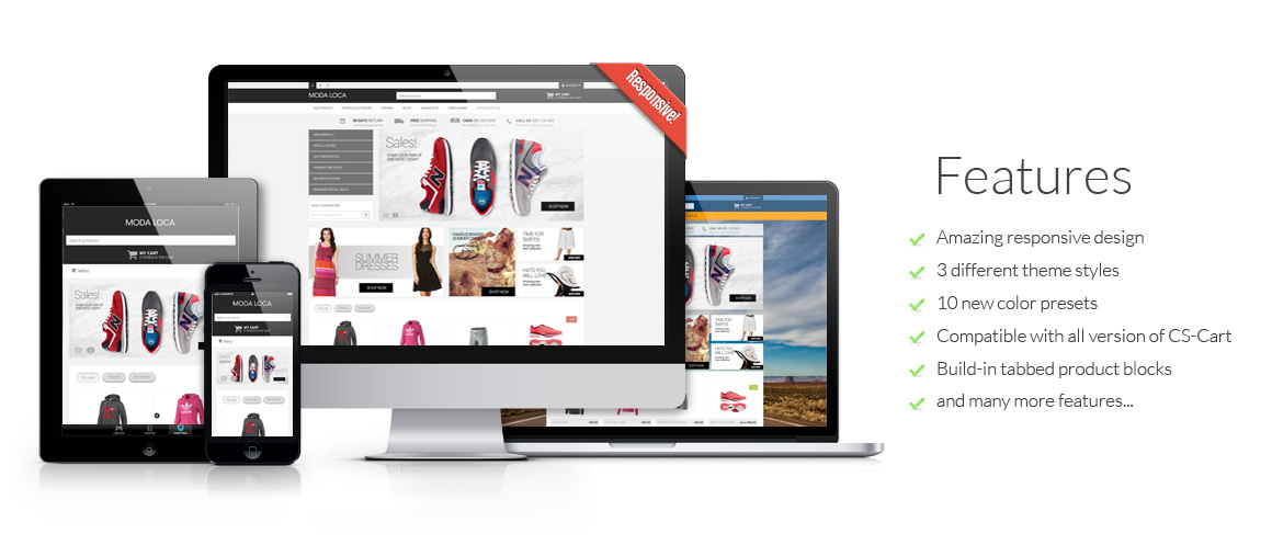 Moda Loca CS-Cart Responsive Theme