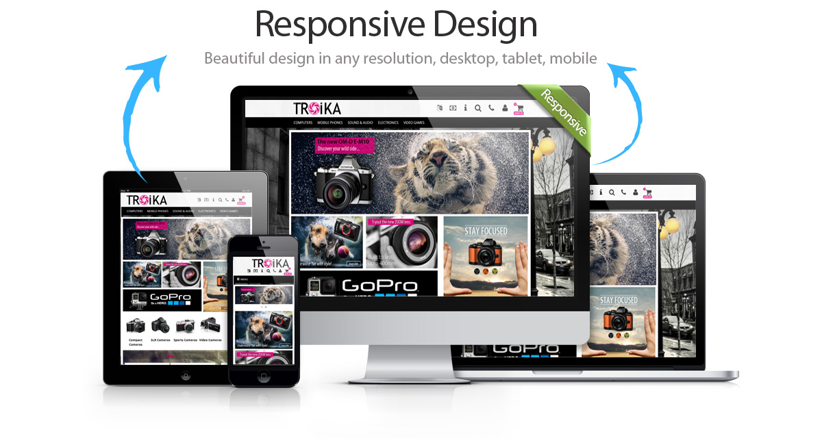 Troika CS-Cart Responsive Theme Showcase
