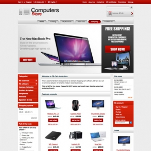 CS-Cart Computers Template