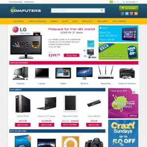 CS-Cart 3 Computers Template