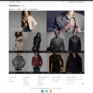CS-Cart v3 Fashionshop Template
