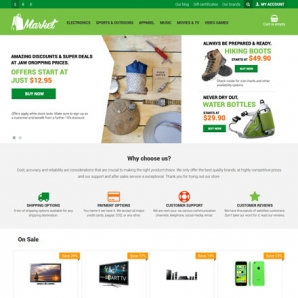 CS-Cart 4 market Responsive Template
