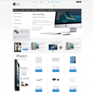CS-Cart new iStore Template v4