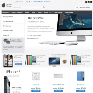 CS-Cart new iStore Template v3