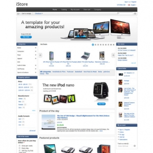 CS-Cart iStore Template