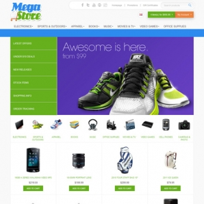 CS-Cart 3 Mega Store Template