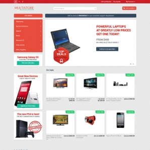 CS-Cart 4 Multistore Responsive Template