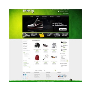 CS-Cart 2 Sports Template