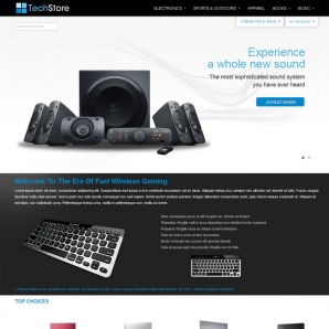 CS-Cart v3 Technology Store Template