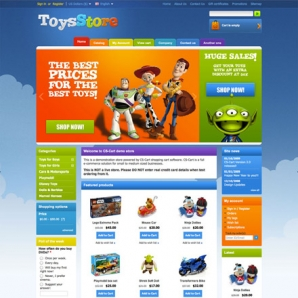 CS-Cart Toys & Games Template