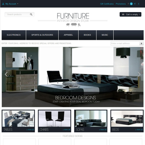 CS-Cart Furniture Template v4