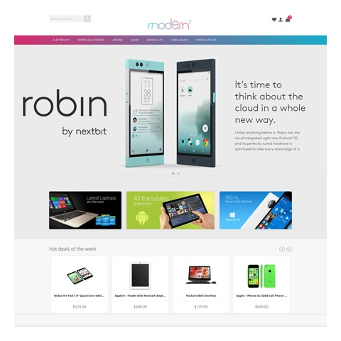 CS-Cart 4 Modern2 Responsive Theme
