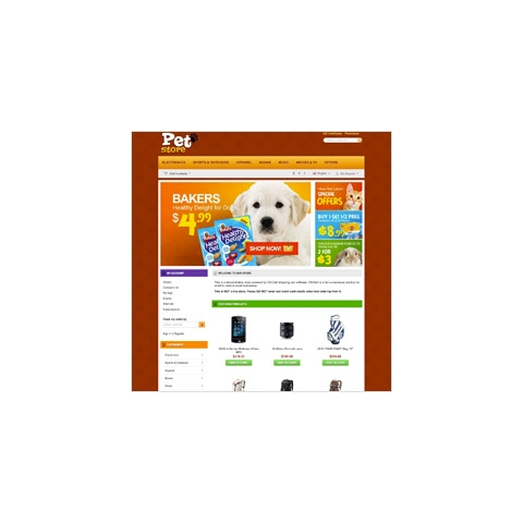 CS-Cart Pet Store Template v3