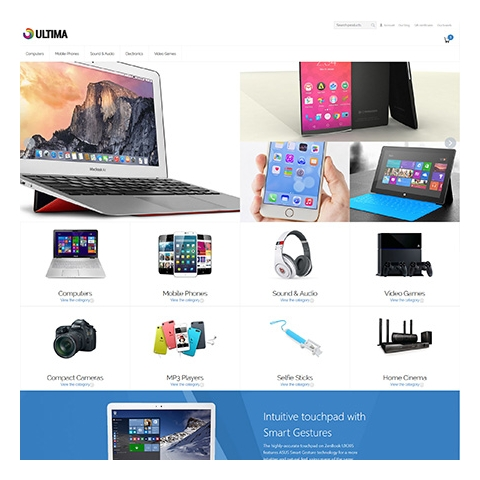CS-Cart 4 Ultima Responsive Template